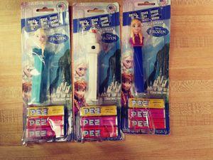 3 Disney Frozen Pez Candy Dispensers for Sale in TEMPLE TERR, FL