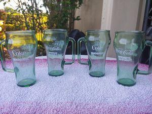 VINTAGE COKE DALLAS COWBOY WHATABURGER GLASSES for Sale in Plant City, FL