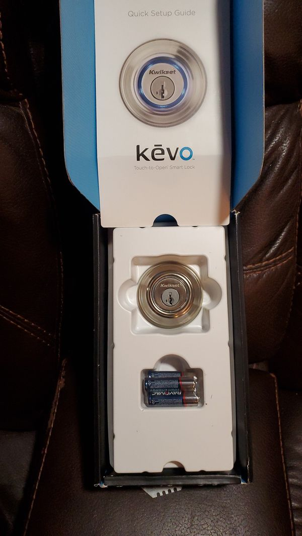 Kevo smart lock for house door