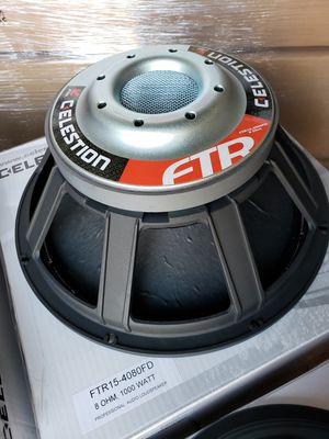 "NEW 15"" 1000 watt RMS 97dB Celestion FTR15-4080FD pro audio subwoofer woofer midrange many available JBL 2226H alternative for Sale in Norwalk, CA"