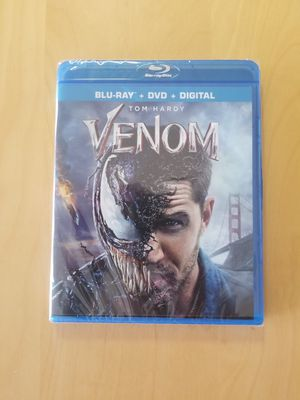 Venom BluRay, DVD, Digital for Sale in Seattle, WA