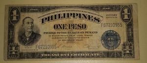 One peso de Filipinas 1922 for Sale in El Monte, CA