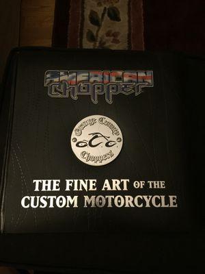 American Chopper hardcover book for Sale in Charlton, MA