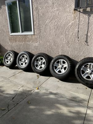 Jeep wheels for sale (OBO) for Sale in Los Angeles, CA