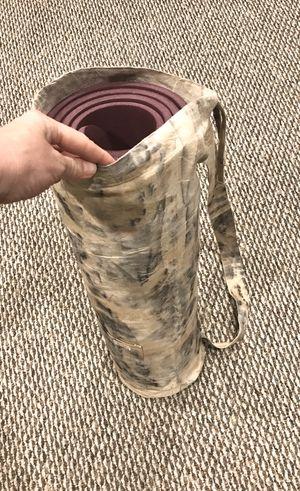 Designer Yoga Mat Bag (Ali Dakota Designs) with FREE Yoga Mat for Sale in Traverse City, MI