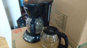 Sunbeam coffee maker with extra carafe for Sale in Oakton, VA
