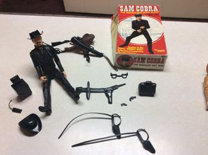 Vintage Sam Cobra Renegade Bad Man Figure w/ Original Box and accessories for Sale in Ashley, OH
