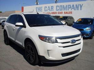 2013 Ford edge SLE four-door crossover for Sale in Las Vegas, NV