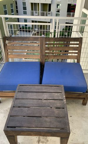 Outdoor patio furniture with cushions for Sale in Coronado, CA