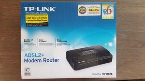 TP-Link TD-8816 DSL ADSL+ Modem for Sale in Escondido, CA