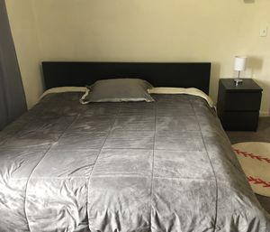 CA King size Malm style bedroom set for Sale in Merced, CA