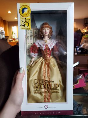 Dolls of the world, princess of Holland barbie for Sale in Gig Harbor, WA