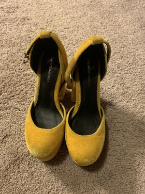 Yellow Doll high heels for Sale in Puyallup, WA