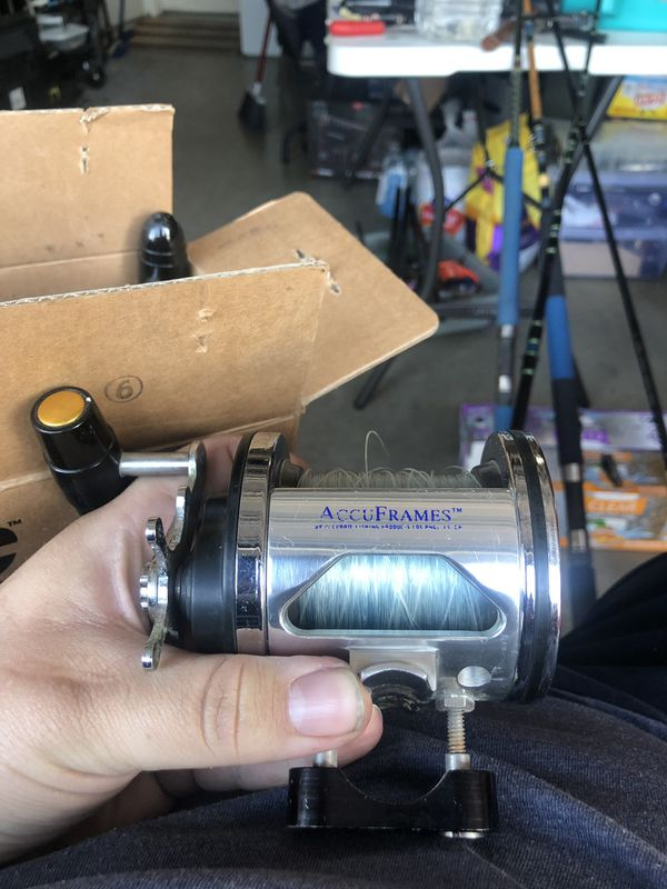 Penn 505hs fishing reel with accurate frame