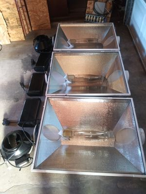 Sun system xxl magnum 1000 watt hood, buld and phantom digital ballast for Sale in Hayward, CA