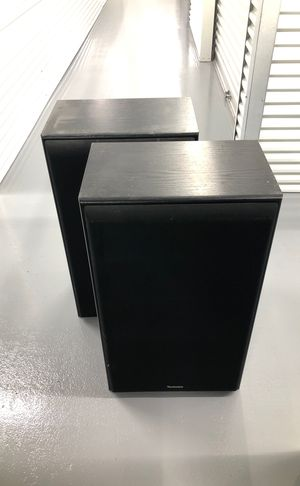 2 Standing speakers with Stereo Receiver for Sale in Houston, TX