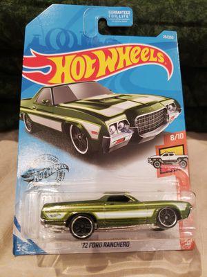 Hot wheels 72 ford ranchero for Sale in La Verne, CA