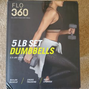 5 lb dumbells set for Sale in Saint Charles, MO