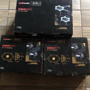 Polk Audio Mm571 & Mm691 Speaker Set for Sale in Lynwood, CA