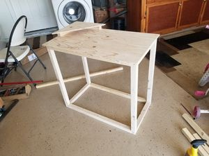 Study table student desk with shelve for Sale in Sacramento, CA