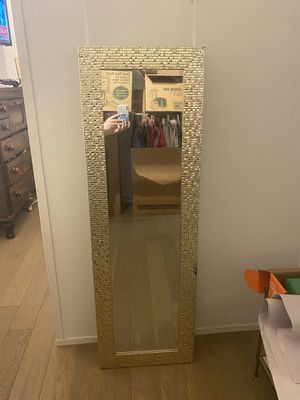 Gold over door mirror for Sale in New York, NY
