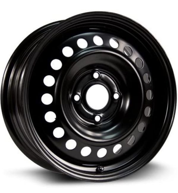 BLACK RTX STEEL RIM WHEEL J14X5JDOT 5 16 / 5Q6 3 CT