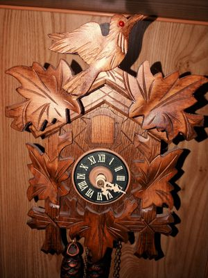 Antique Cuckoo clock (made in Germany) for Sale in Portland, OR