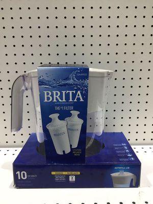 Water Filtration System 10 Cup Filtro de Agua Brita Jarra 9993333 for Sale in Miami, FL