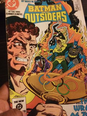 Batman and the outsiders comic for Sale in Los Angeles, CA