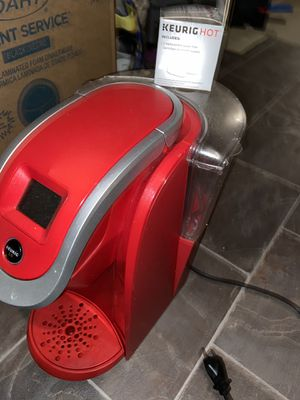 Red keurig coffee maker for Sale in Lancaster, PA