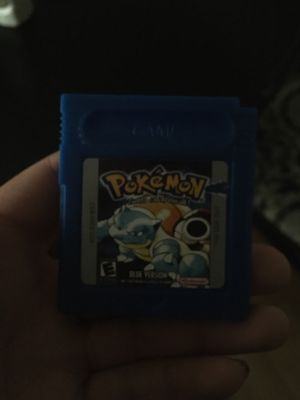 Pokemon blue version for Sale in Brooks, OR