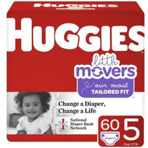 Huggies lil movers sizes 3, 4, 5, 6 for Sale in Calimesa, CA