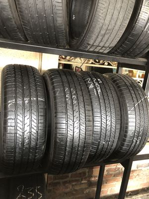 225-60-17 used tires 225/60/17 llantas usadas for Sale in Fontana, CA