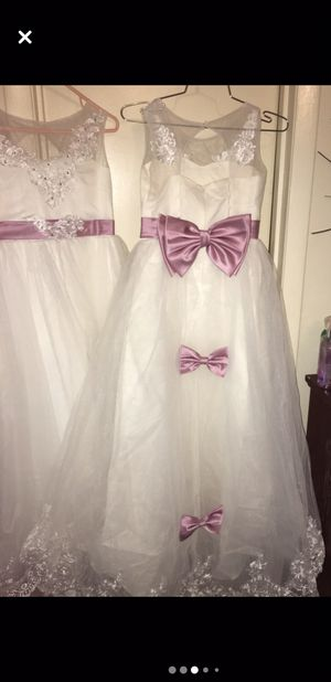 Flower girl or jr bridesmaids dresses/ price negotiable for Sale in Cayce, SC