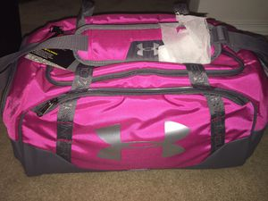 Under Armour Storm Duffle Bag -Pink $35 for Sale in Sumner, WA