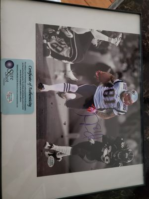 Autographed Aaron Hernandez picture for Sale for sale  Somersworth, NH
