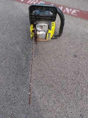 Ryobi 18 inch chain saw for Sale in Sunnyvale, TX