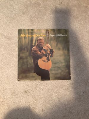 Roger Whittaker, folk songs of all time record for Sale in Puyallup, WA