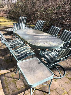 11 piece patio set by Winston furniture quality for Sale in Kirkwood, NJ