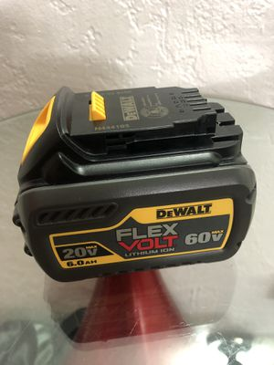Brand New DeWalt 6AH Flexbolt Battery for Sale in West Miami, FL