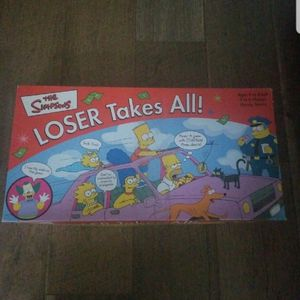 The Simpsons Loser Takes All Board Game for Sale in Norristown, PA
