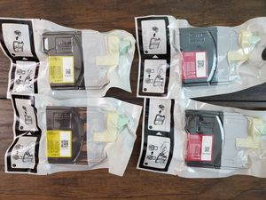 4 GENUINE OEM BROTHER LC61Y LC61M PRINTER INK CARTRIDGES YELLOW MAGENTA for Sale in Chandler, AZ