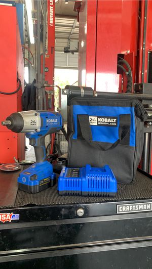 Kobalt 24-volt Max 1/2-in Drive Cordless Impact Wrench Brushless Motor for Sale in Tampa, FL