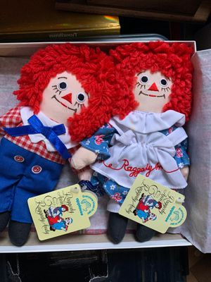 Raggedy Ann & Raggedy Andy Dolls for Sale in Tacoma, WA