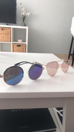 2 Mirrored Sunglasses for Sale in Miami Beach, FL