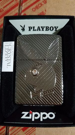 Zippo playboy bunny crystal armor high polished chrome 28963 for Sale in Los Angeles, CA