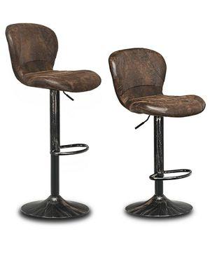 Set of Two Swivel Barstools w/Backrest for Sale in Bakersfield, CA