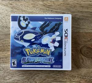 Pokémon Alpha Sapphire (Nintendo 3DS) for Sale in Newton, KS