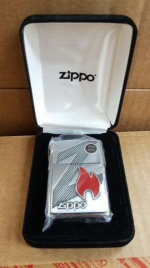 Zippo z flame brushed chrome 29104 for Sale in Los Angeles, CA