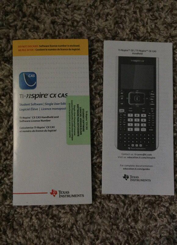 TI-nspire cx CAS for Sale in Grovetown, GA - OfferUp